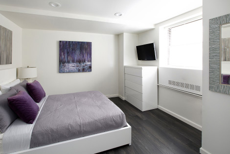 Corporate Housing Bedroom - Executive Plaza NYC