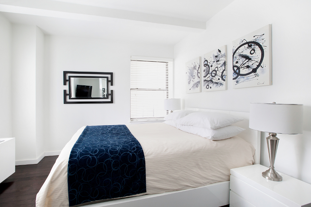 Corporate Housing Bedroom - Executive Plaza NYC